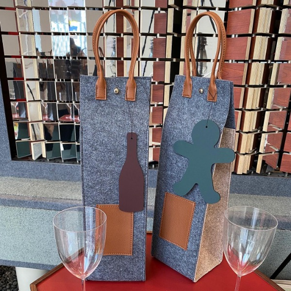 Wine Bag & Keychain
